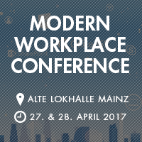 Learn about Office 365 & Exchange at the Modern Workplace Conference